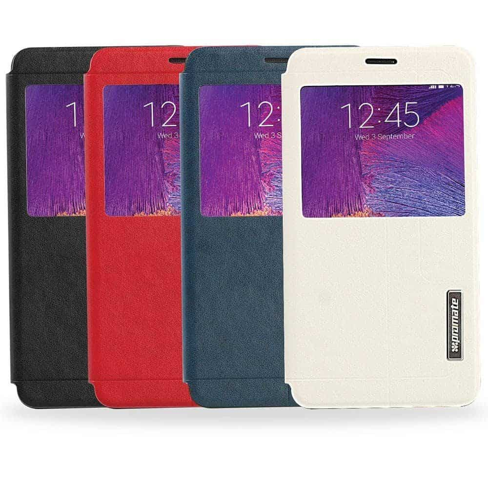 Etui pour Samsung Galaxy Note 4 Promate Tama-N4