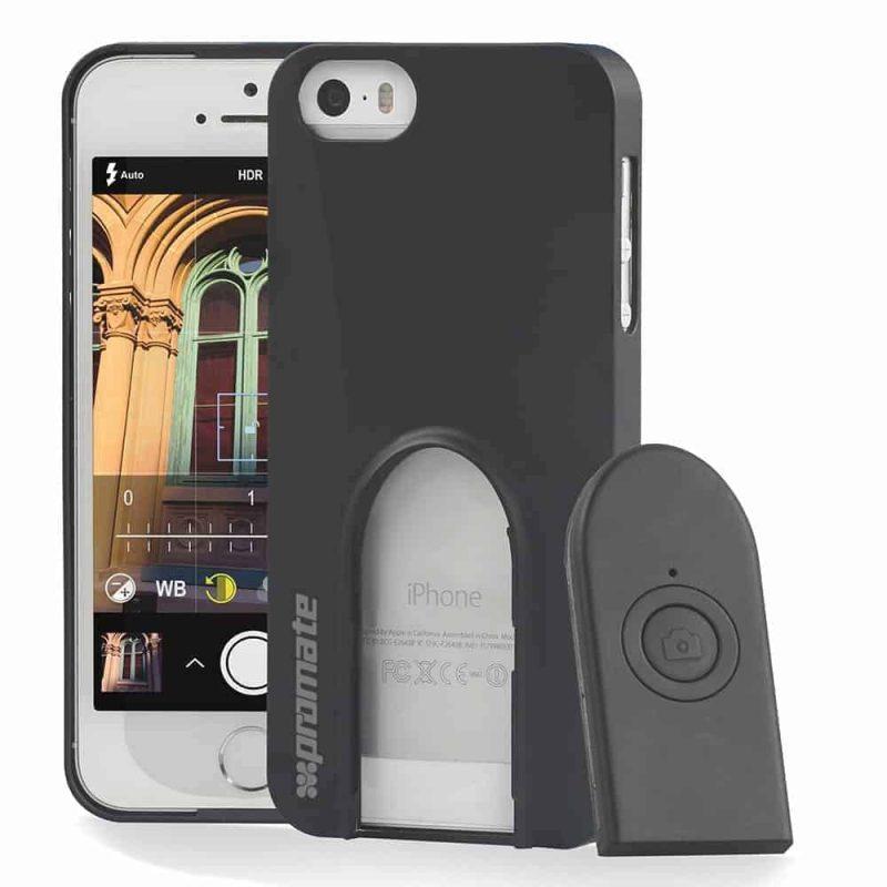 Etui Selfie Déclencheur à Distance pour Iphone 5 & 5S Promate Selfiecase-I5