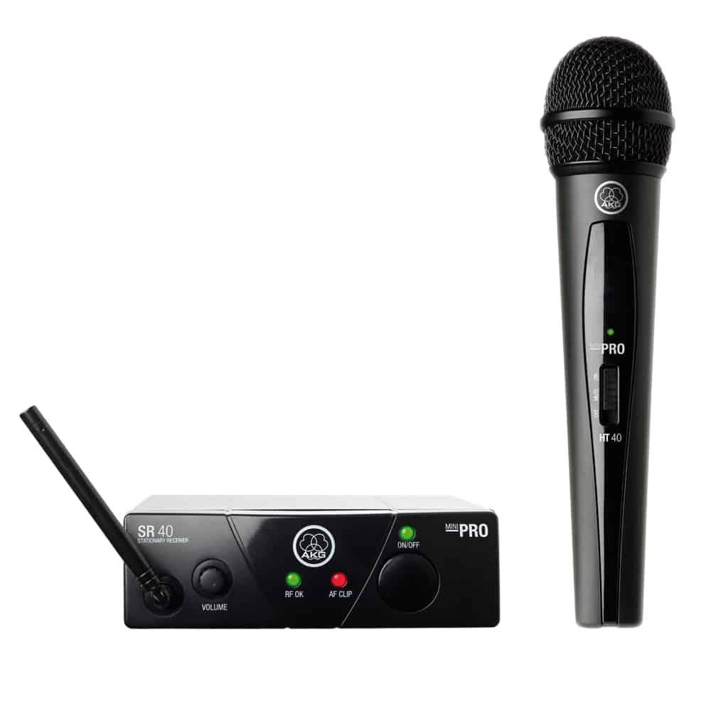 Système De Microphone Sans Fil AKG Harman WMS 40 Mini Vocal