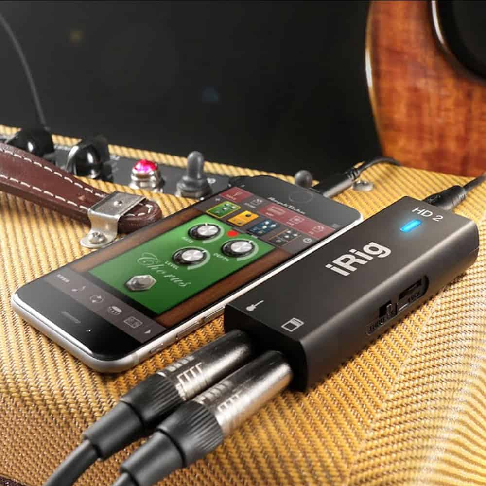 IK Multimedia iRig HD 2 Interface Guitare Et Basse Algerie Store