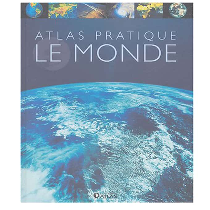 Pour mieux comprendre le monde qui nous entoure, cet atlas de 240 pages réunit une véritable encyclopédie de la terre, de très nombreuses cartes géographiques et économiques, et les drapeaux de tous les pays.
