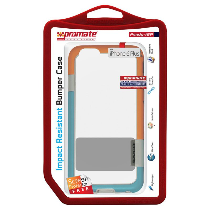 PROMATE-ALGERIE-STORE-Etui-pour-iPhone-6-Plus-6S-Plus-Fendy-I6P-ORANGE-1